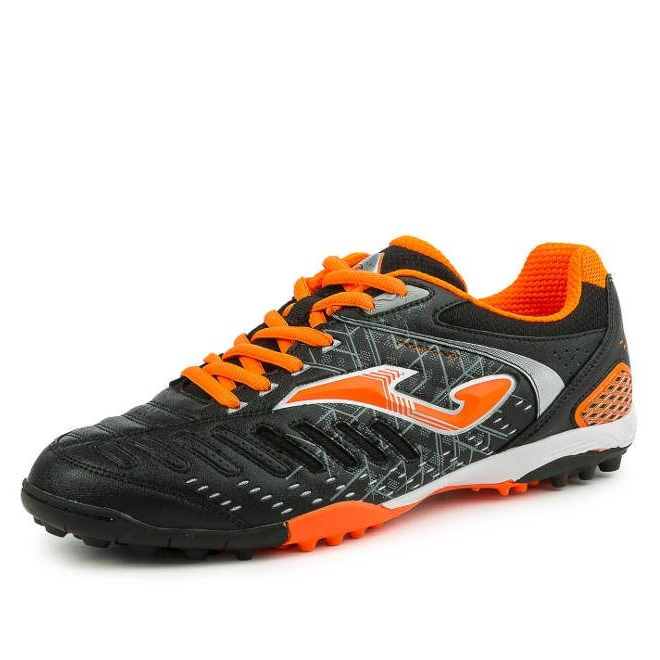 JOMA MAXIMA BLACK-ORANGE FLUOR  TURF 601