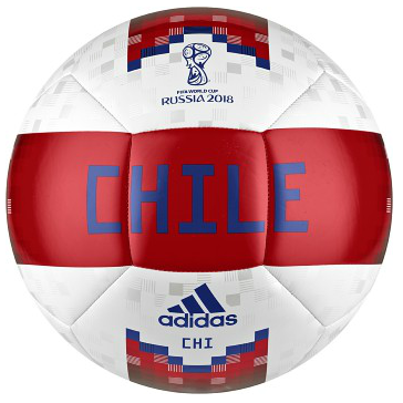 ADIDAS CHILE TRAINING SOCCER BALL CF2306