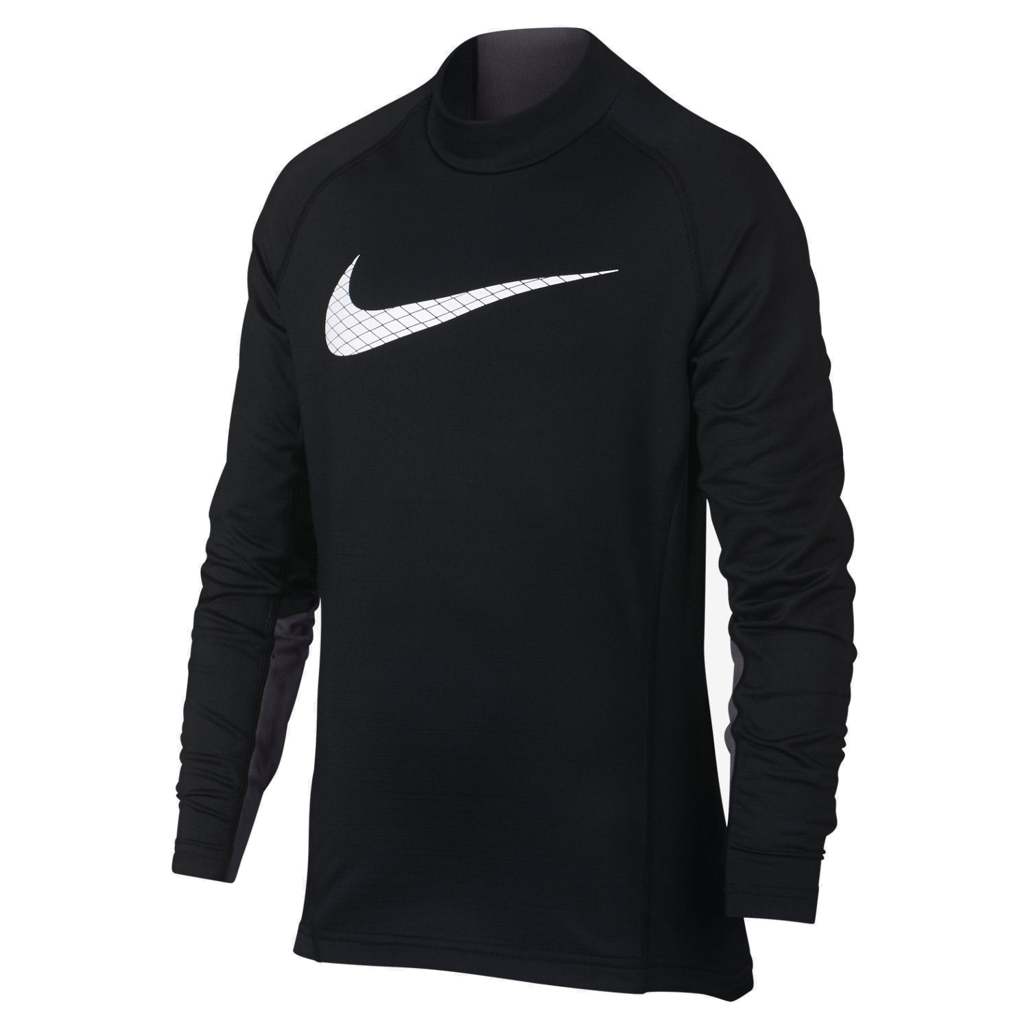 БЕЛЬЕ NIKE PRO ВОДОЛАЗКА WM TOP LS MOCK GFX AH3997-010 JR