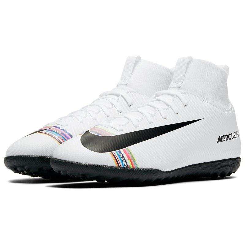 NIKE SUPERFLY VI CLUB CR7 TF AJ3088-109 JR