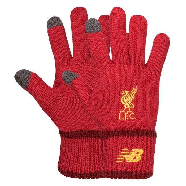 Перчатки Ливерпуль красные New Balance MG934011/TP2