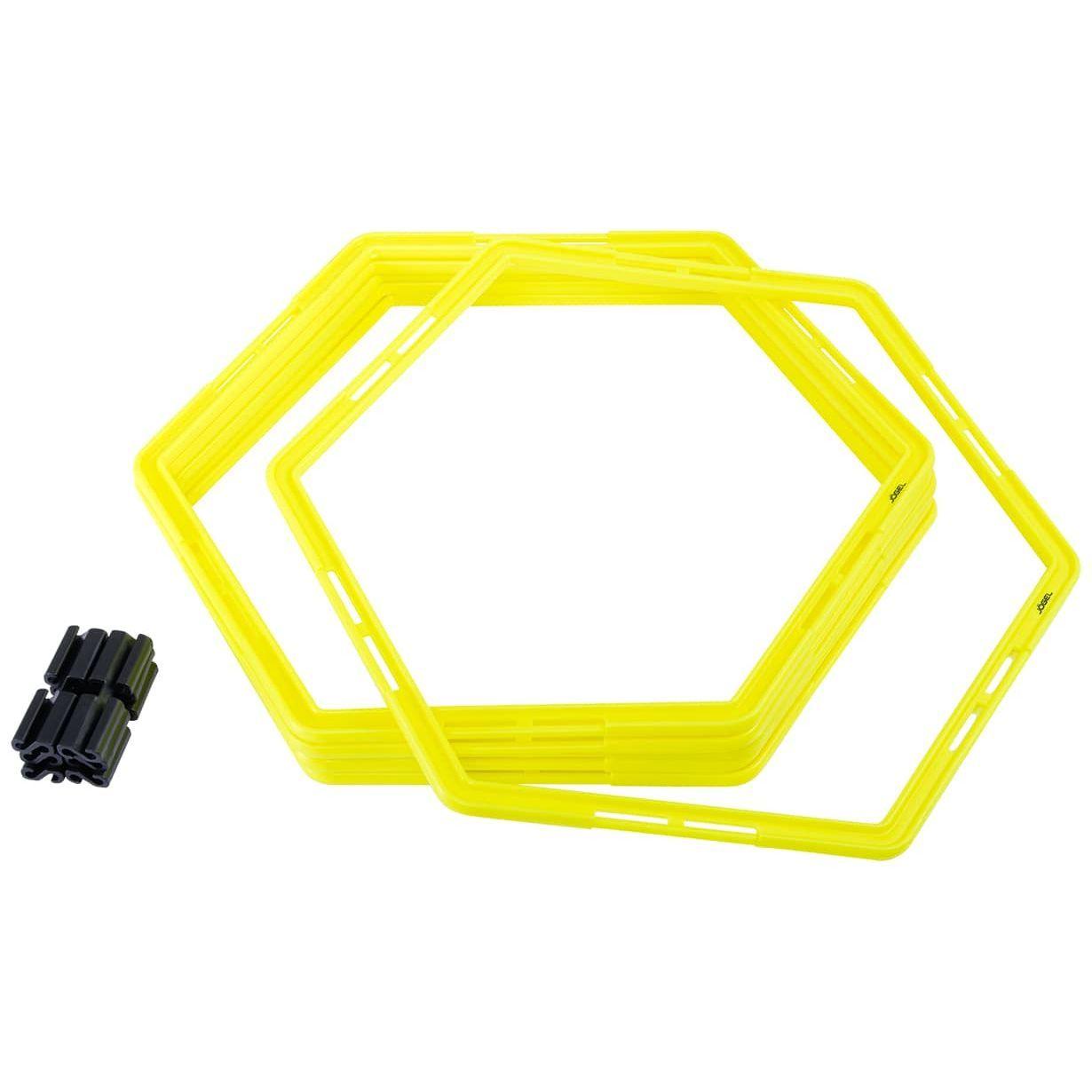 Набор шестиугольных напольных обручей Jogel JA-216